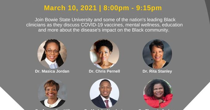Bowie State University's Graduate Student Association's #COVID19 Virtual Town Hall
