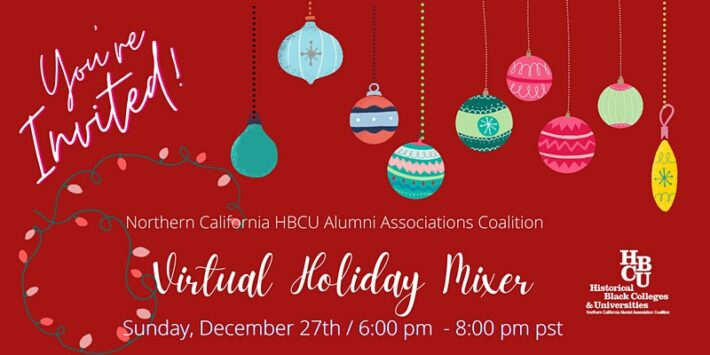 HBCU Annual Holiday Mixer – A Virtual Affair