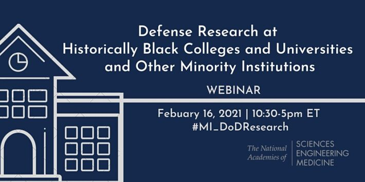Committee on Defense Research at HBCUs & Other Minority Institutions