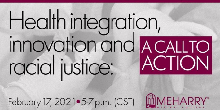Health Integration, Innovation and Racial Justice: A Call to Action